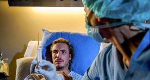 Beatrice rovina il ginocchio di William, Tempesta d'amore © ARD/Christof Arnold