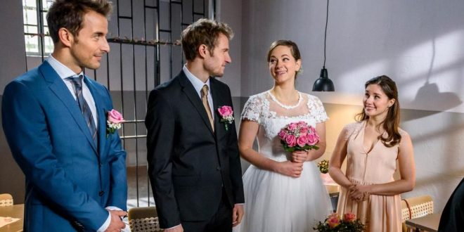 Matrimonio di Tina e Oskar, Tempesta d'amore © ARD/Christof Arnold