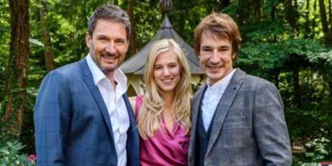 Christoph, Alicia e Viktor, Tempesta d'amore © ARD Christof Arnold