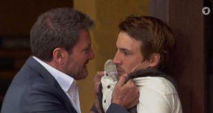 Christoph e Viktor, Tempesta d'amore © ARD (Screenshot)
