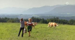 Michael e Natascha contadini, ARD (Screenshot)