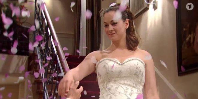 Tina si sposa, Tempesta d'amore © ARD (Screenshot)