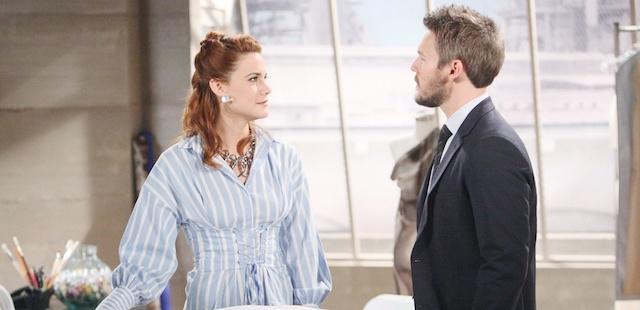 LIAM e SALLY (Beautiful) / Fonte foto: CBS e JPI Studios