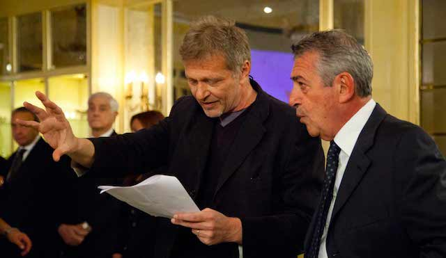 Fabio Sabbioni e Marzio Honorato