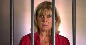 Charlotte in prigione a Tempesta d'amore