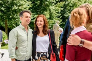 Robert e Eva con William e Rebecca, Tempesta d'amore © ARD/Christof Arnold
