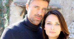 Anna Safroncik (Aurora Taviani) e Fabio Fulco (Fabio Astori) / Le tre rose di Eva