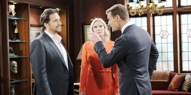 "RIDGE, BROOKE e il ""nuovo"" THORNE / Beautiful (foto JPI Studios)"