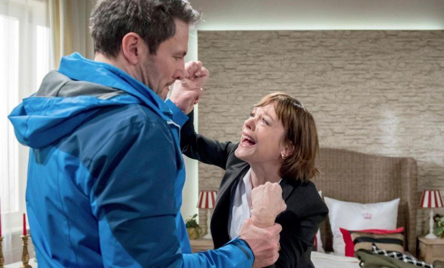 Tempesta d'amore |  anticipazioni tedesche |  Xenia vuole uccidere Christoph!