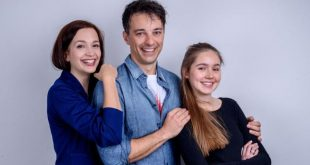 Eva, Robert e Valentina, Tempesta d'amore © ARD