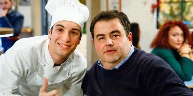 Lorenzo Sarcinelli e Gennaro Esposito (foto di Giuseppe D'Anna)
