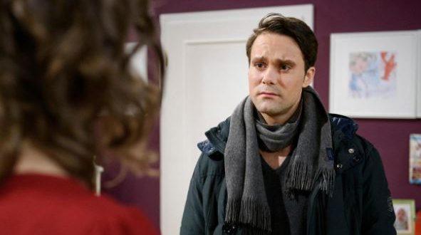 Carsten si presenta a Tina, Tempesta d'amore © ARD/Christof Arnold