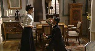 Una vita: la proposta di matrimonio di Fernando a Teresa