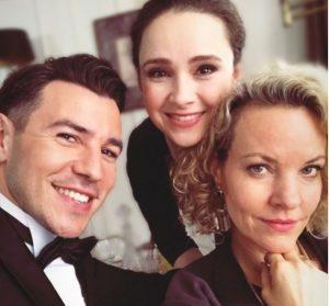 Goran, Romy e Natascha © Pagina Facebook di Saša Kekez