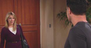 Taylor di Beautiful con Bill Spencer (Hunter Tylo e Don Diamont)
