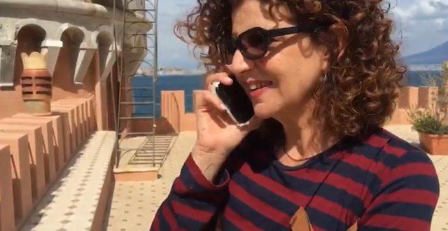 ADELE PANDOLFI è Rita Giordano a Un posto al sole