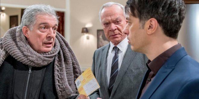 André, Werner e Robert, Tempesta d'amore © ARD Christof Arnold