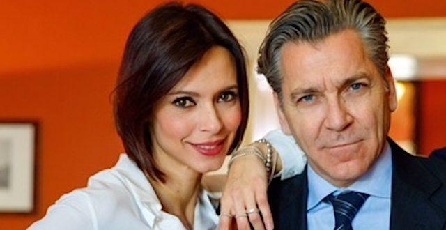 Un posto al sole: ELENA GIORDANO e MASSIMO ENRIQUEZ (gli attori Valentina Pace e Rodolfo Corsato)