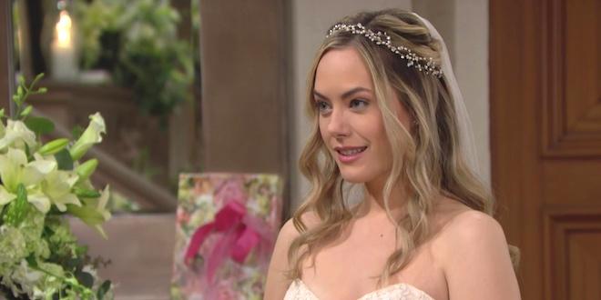 HOPE (Annika Noelle) in abito da sposa / Beautiful
