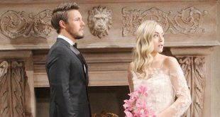 HOPE e LIAM, matrimonio / Beautiful (foto CBS / JPI Studios)