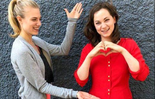 Alicia e Tina, Tempesta d'amore (Foto da Facebook)