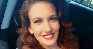GIULIA DI QUILIO è Clara Fiorito a Un posto al sole (foto da Facebook)