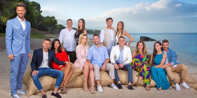 TEMPTATION ISLAND 2018: Filippo Bisciglia con le coppie di partecipanti