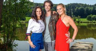 Denise, Joshua e Annabelle, Tempesta d'amore © ARD Christof Arnold