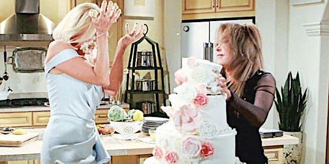 """""""Rissa nuziale"""" tra Brooke e Taylor al matrimonio di Liam e Steffy / Beautiful"""