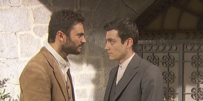 PRUDENCIO e SAUL / Il segreto (foto Antena 3)