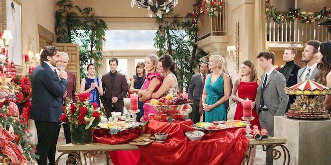 Natale a Beautiful (foto CBS)