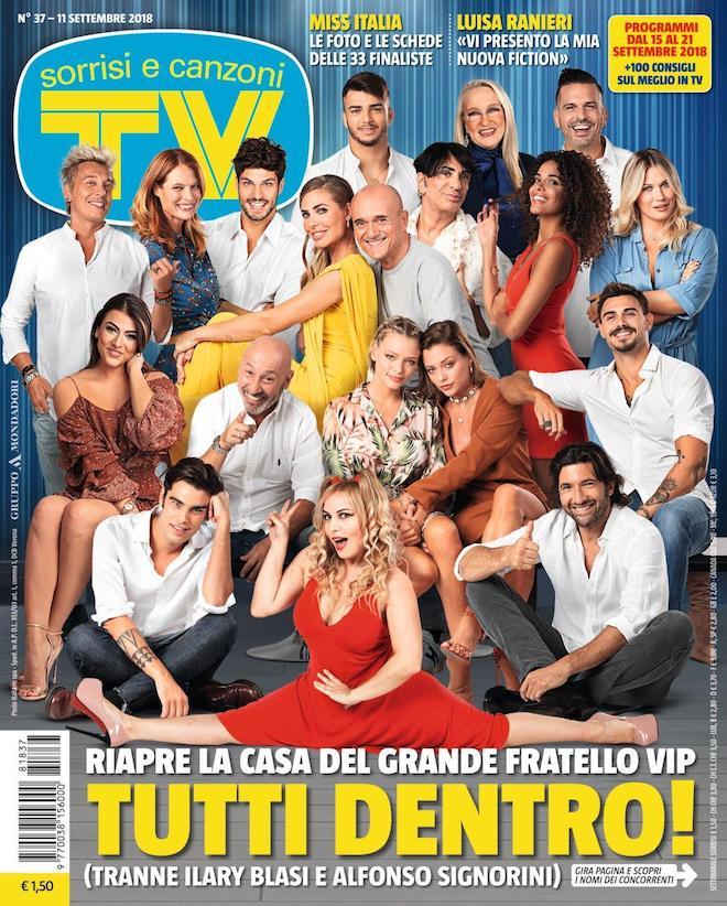 Il cast del GRANDE FRATELLO VIP 3