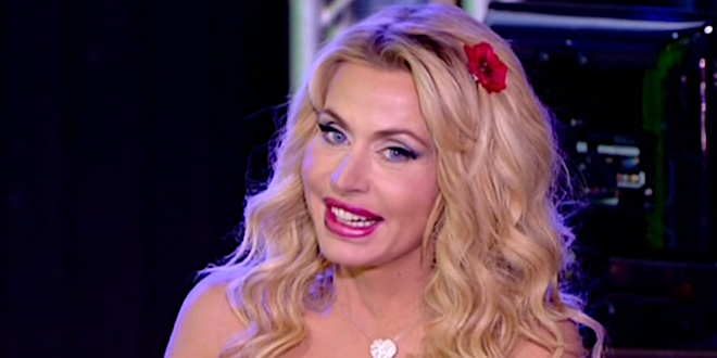 VALERIA MARINI partecipa a Temptation Island Vip