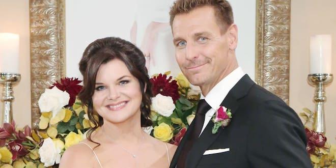 Il matrimonio di Thorne e Katie a Beautiful (foto CBS / JPI Studios)
