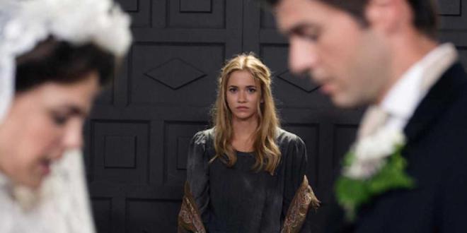 Una Vita anticipazioni: ELVIRA torna durante le nozze di SIMON e ADELA