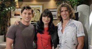 Brett, Tyler e Quinn / Beautiful (foto: Johnny Vy / CBS)