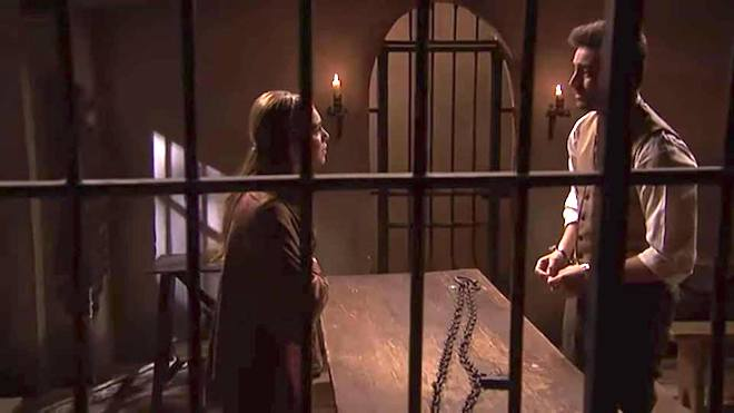 Saul in carcere
