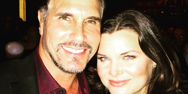 Heather Tom e Don Diamont / Foto Instagram - bbheathertom