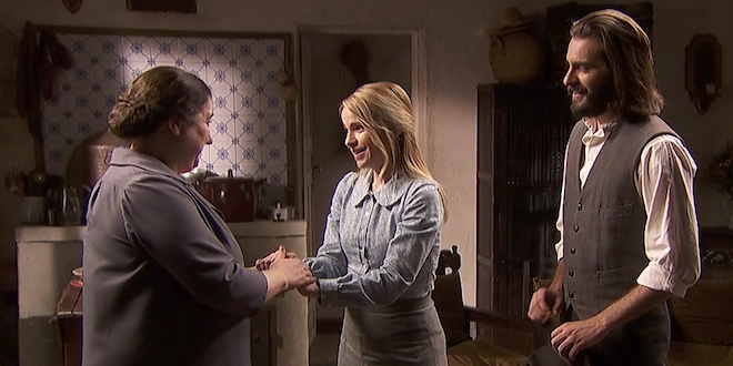 Consuelo, Antolina e Isaac / Il segreto