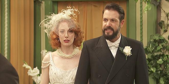 SEVERO e IRENE, le nozze / Il segreto
