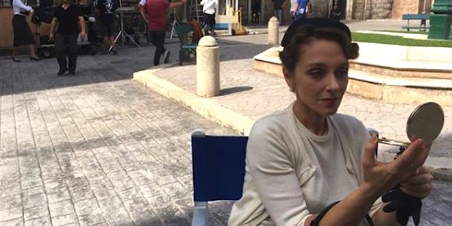 MARTA RICHELDI è Silvia Cattaneo a Il paradiso delle signore / Foto da Instagram