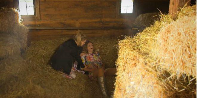 Jessica partorisce con l'aiuto di Annabelle, Tempesta d'amore (Screenshot da Facebook)