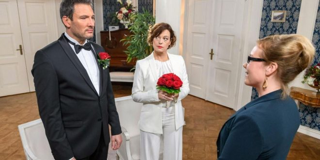 Matrimonio di Christoph e Xenia, Tempesta d'amore © ARD Christof Arnold