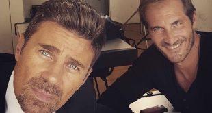 Fabio Fulco e Maurizio Aiello (foto da Instagram)