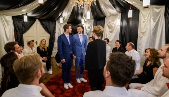 Boris e Tobias si sposano, Tempesta d'amore © ARD Christof Arnold