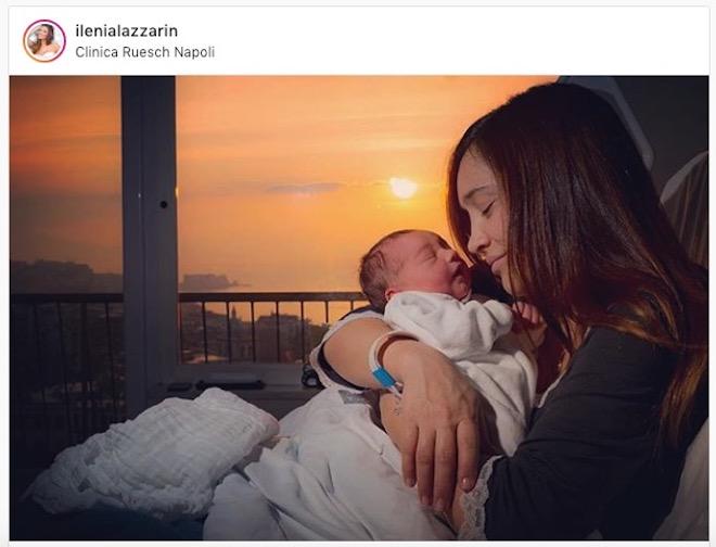 Ilenia Lazzarin è diventata mamma: è nato il piccolo Raoul