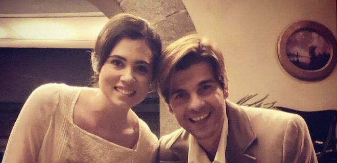 MARIA e GONZALO / Il segreto (foto Instagram)