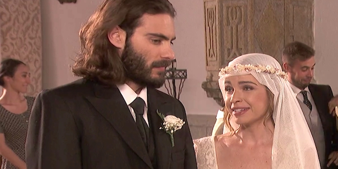 Matrimonio In Segreto : Anticipazioni il segreto le nozze di isaac e antolina cosa farà