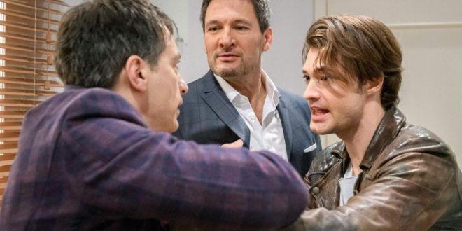 Robert, Christoph e Joshua, Tempesta d'amore © ARD Christof Arnold