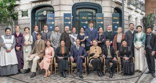 Nuovo cast UNA VITA, salto temporale nel 1913 / Foto RTVE su Twitter